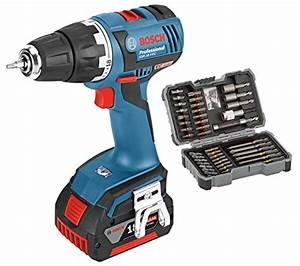 Visseuse Bosch 18v : perceuse visseuse sans fil bosch pro gsr 18 v ec outils ~ Melissatoandfro.com Idées de Décoration