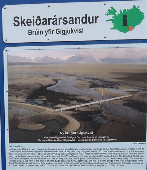 extreme iceland  part  skeidara bridge