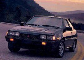 automotive service manuals 1985 mitsubishi cordia user handbook japanese car spotters guide 1985