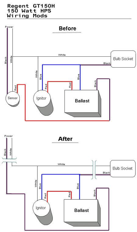 Mercury 1500 Wiring Diagram by How Do I Convert A Common Home Security Light Into A