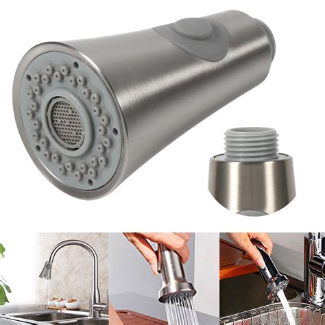 Faucet Replacement Spray Head Universal Pull Out Kitchen