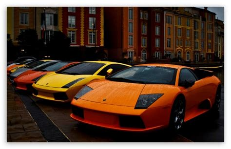 Lamborghini Murcielago And Gallardo 4k Hd Desktop