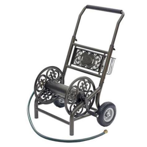 2 wheel decorative hose cart