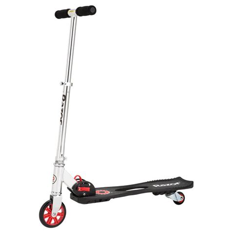 siege scooter razor foldable siege drifting twistable deck caster