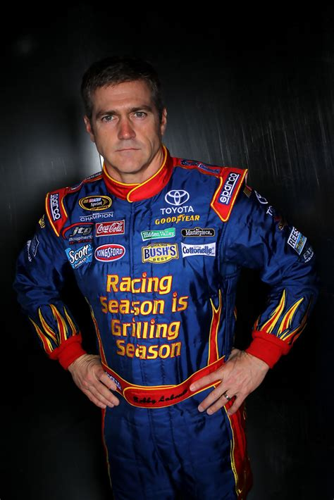 bobby labonte   nascar media day sprint cup series