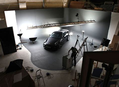 lights for photoshoot car studio photography set ups core77