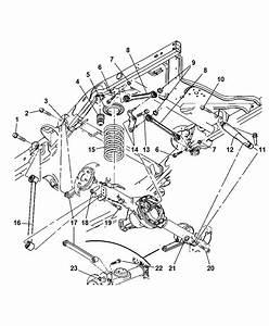 2007 Dodge Aspen Suspension Diagram