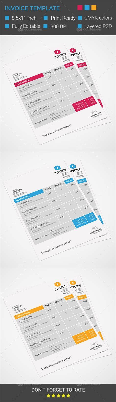 invoice template prints codegrape
