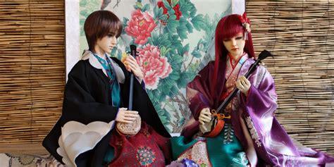 Lėlės vienai dienai įkūnys Japonijos istorinę kultūrą ir ...