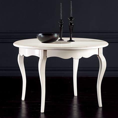 tavolo rotondo bianco allungabile tavolo rotondo allungabile 100 bianco anticato