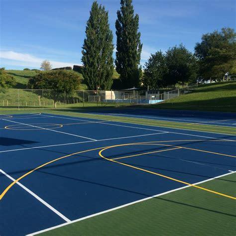 multi sport backyard courts optimizing sport surfaces