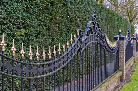 metal fences aluminum fence california fence company