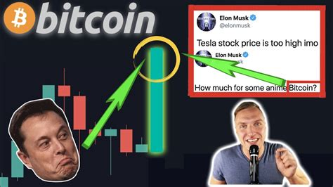 Why would bitcoin rally this hard off of a twitter bio change? CRAZY!!!! ELON MUSK's BITCOIN TWEETS BTC PRICE TOO LOW!!!! Last time BTC did this: 140% PUMP ...