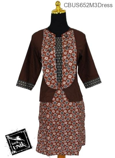 Dress Katun Aj baju batik sarimbit dress katun motif ceplok bintang