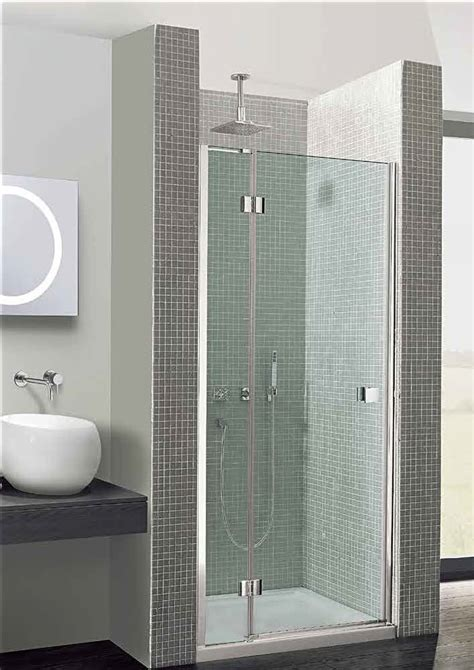 simpsons design hinged shower door mm  inline panel