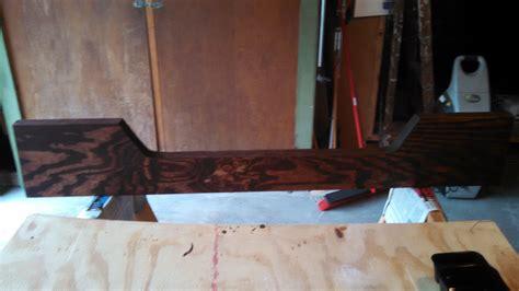 replacing transom board wood    aluminum boat