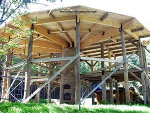 Post and Beam Cordwood Construction