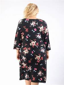 robe florale ulla popken 46 et plus With ulla popken robe