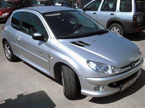 siege 206 quicksilver peugeot 206 quicksilver picture 15 reviews specs buy car