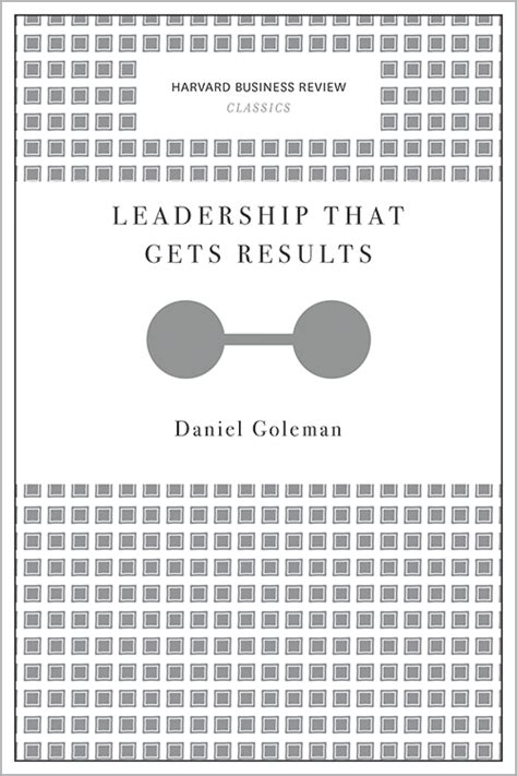 leadership   results harvard business review