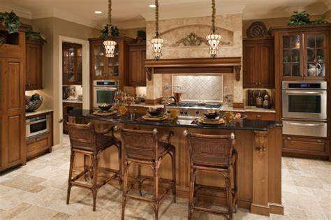 Traditional Kitchens : 18 Luxury Traditional Kitchen Designs That Will Leave You