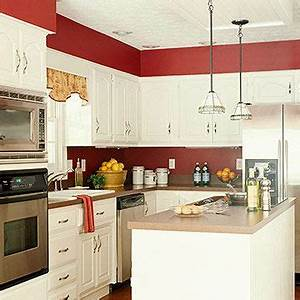best 25 red kitchen walls ideas on pinterest red paint With kitchen colors with white cabinets with italian metal wall art