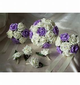 Bouquet De La Mariée : lot de bouquets de mari e et demoiselle d 39 honneur parme ~ Melissatoandfro.com Idées de Décoration
