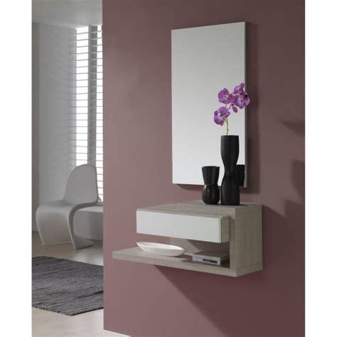 placage meuble cuisine meuble d 39 entrée design miroir concept