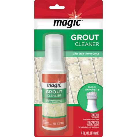 magic 4 oz grout cleaner with scrubber tip 3074 the