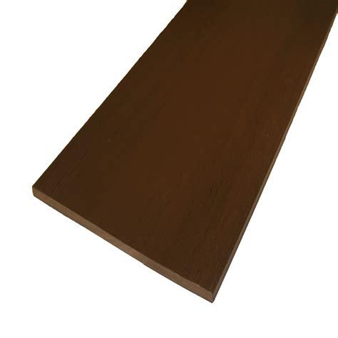 azek porch flooring specs shop azek acacia composite deck trim board actual 1 2 in