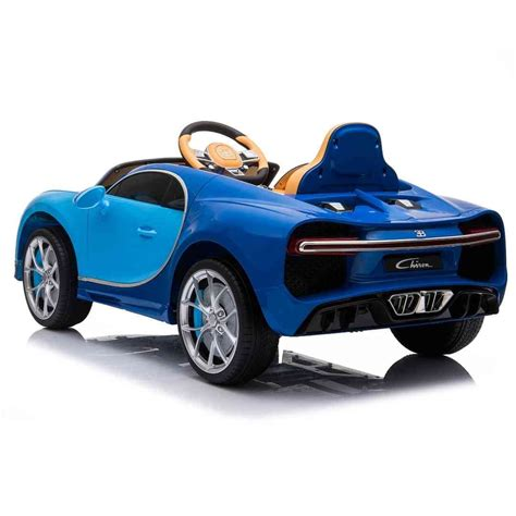 It is a very comfortable and exciting ride on option. Blue Bugatti Chiron 12V Kids Ride On Car with Remote Control - FREE SH - KidCarShop