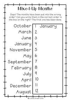 images  spanish months worksheet spanish