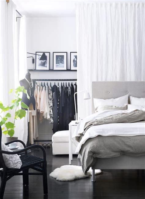 deco chambre adulte lit gris