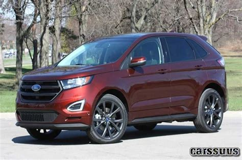 2019 Ford Edge Sport by 2018 2019 Ford Edge Sport New Price Photo