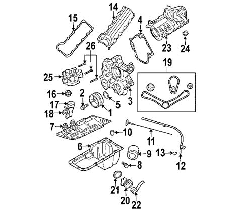 Dodge Dakotum Part Diagram by Parts 174 Dodge Filter Engine Partnumber 5281090ab