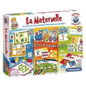 jeux interieur pour maternelle top parents fr jeu 171 la maternelle 187 de clementoni jouets cr 233 atifs et 233 ducatifs jouets