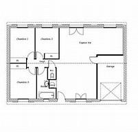 hd wallpapers plan maison rectangulaire plain pied 100m2 - Plan De Maison Rectangulaire