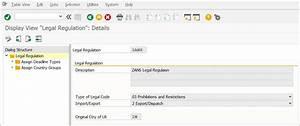 Legal Regulation Configuration Setup In Sap Gts