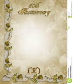 50th wedding anniversary poems 50th anniversary border roses royalty free stock photos image 7163278