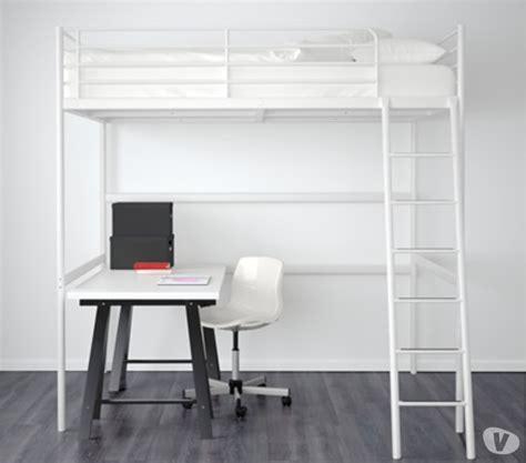 ikea pied bureau lit mezzanine blanc clasf
