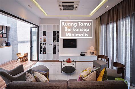 rr tips ruang tamu berkonsep minimalis creativehomex