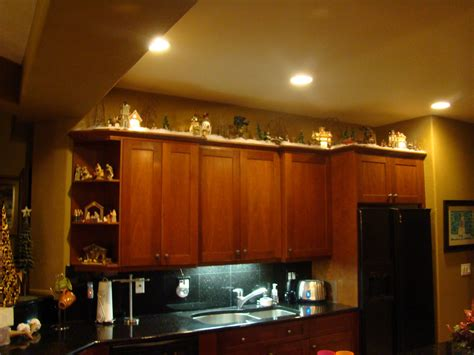 Ideas For On Top Of Kitchen Cabinets by Kristmas Decorations On Top Of Kitchen Cupboards House