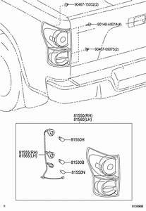 Toyota Tundra Tail Light Harness  Rear