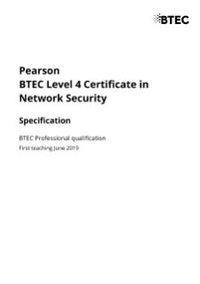 Network Security (L4)   Pearson qualifications