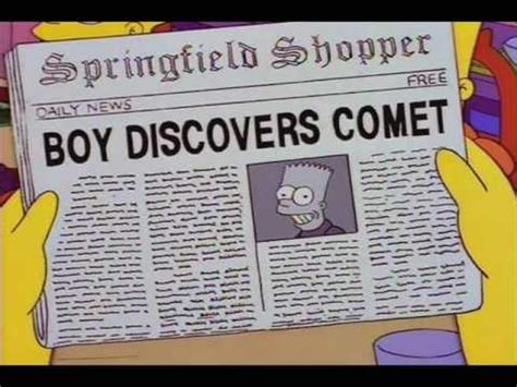 newspaper headlines   simpsons youtube