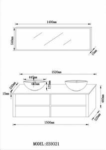 Dimension Vasque Salle De Bain : r sultat de recherche d 39 images pour meuble lavabo salle de bain dimension sdb meuble ~ Nature-et-papiers.com Idées de Décoration