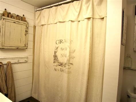 grain sack curtains diy grain sack inspired shower curtains reader feature
