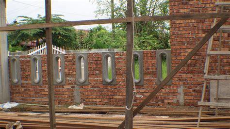 Rincian biaya material pembuatan pagar rumah minimalis bata ringan hebel. Desain Pagar Rumah Dari Batu Bata - Jual Bata Ekspos