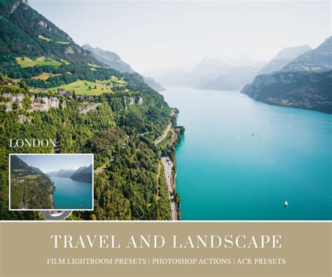 travel  landscape lightroom presets photoshop actions
