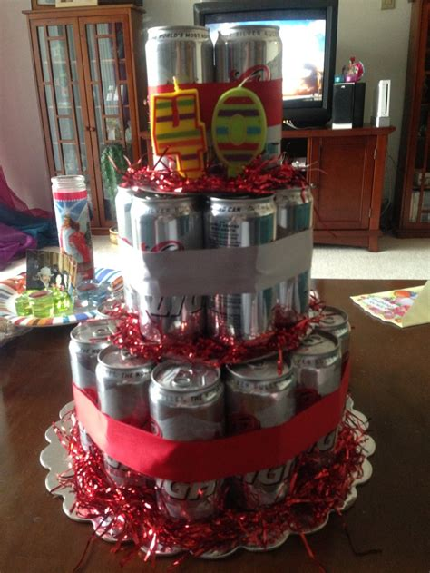 Coors Light Beer Cake